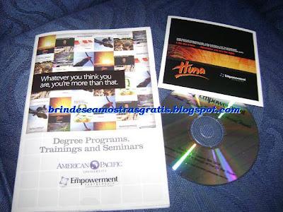 Brinde Gratis CD Huna