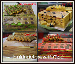 Kelas Kek Lapis Popular - RM250