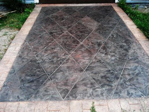 Как сделать прессованный бетон