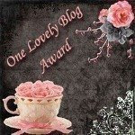 Awards for lovely bloggers