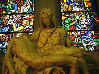 Pieta at the Manila Cathedral