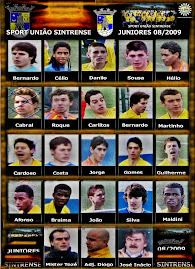 Juniores Sintrense 08/2009 Subida de Divisão