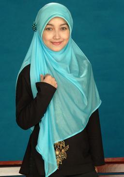 Hijab Styles Hijab Pictures Abaya Hijab Store Fashion Tutorials Turquoise Indonesian Hijab Style