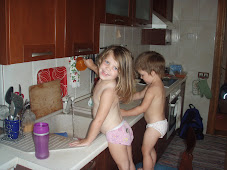 "Hevenlee and Nike ""Washing"" Dishes"