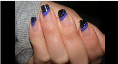 Nails For Short Acrylic Nails For Prom Photo: Simple Nail Art Designs