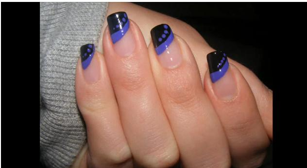 Cute and easy nail art in ten minutes nail nail - Pretty easy nail designs to do at home ...