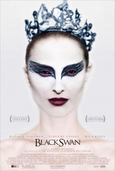 BLACK SWAN - poster. Se um cartaz fosse a representação exata da qualidade