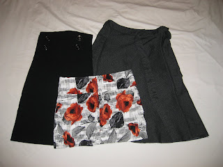 Three skirts