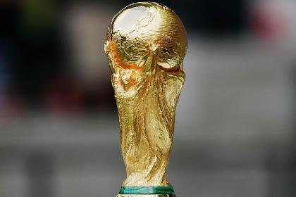 Ribuan Trofi Piala Dunia Palsu Made In China Disita!