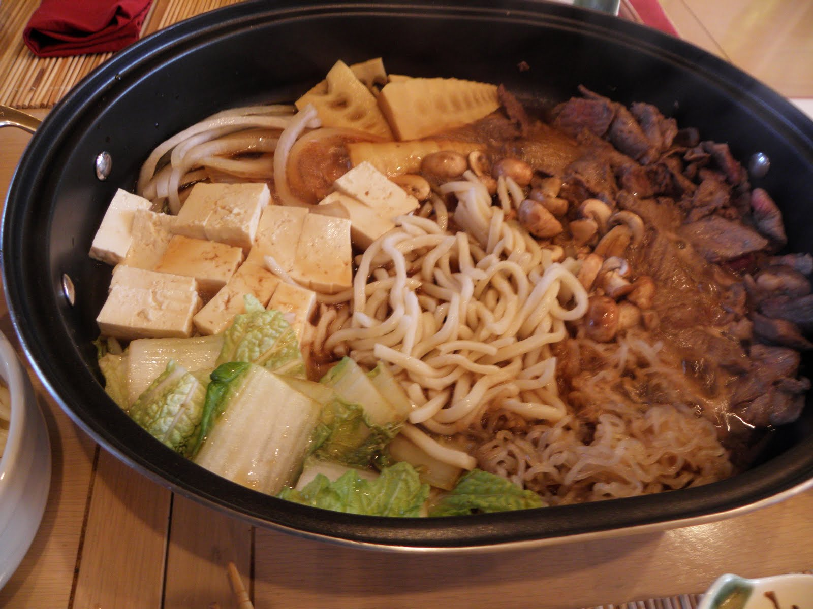 Family Sukiyaki Dinner ~ Chef Julia