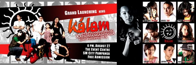 KALAM - the first Kapampanganovela in Philippine broadcasting history