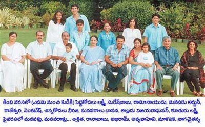 Venky Family Photo