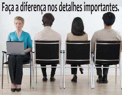 Faça a diferença nos detalhes importantes.