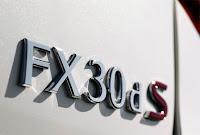 Infiniti FX30ds price