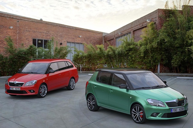 The new Skoda Fabia vRS will be available for £15700 for the hatch and