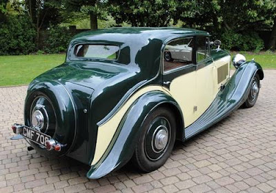 1935 Bentley 3 1/2 Liter Saloon