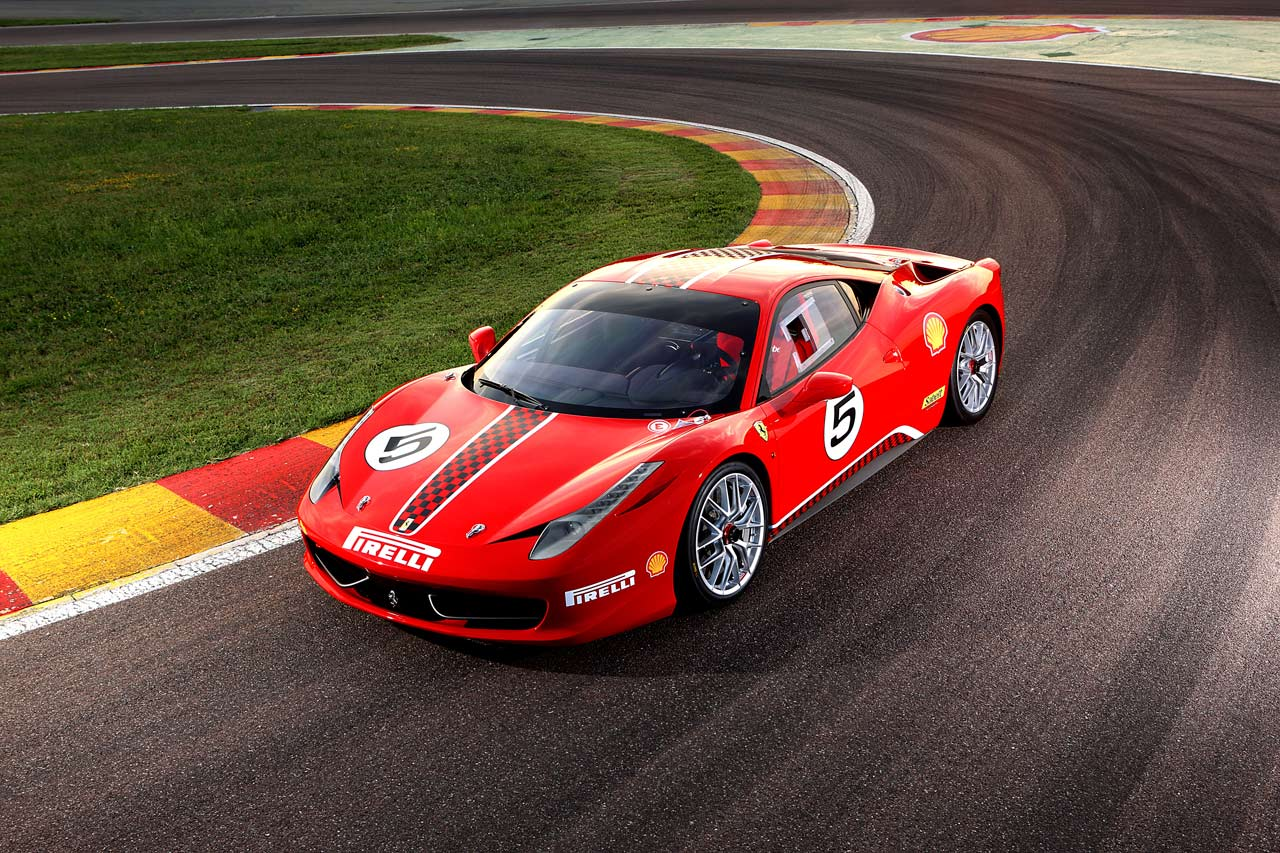 Based on the 458 Ita.