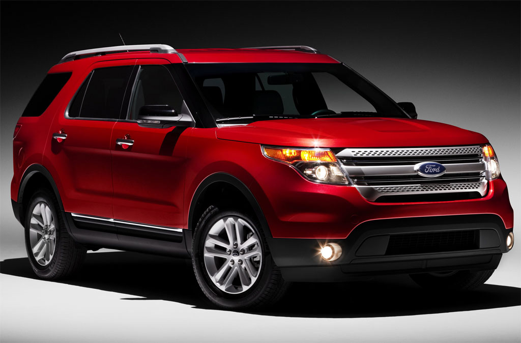 2011 Ford Explorer Unveiled
