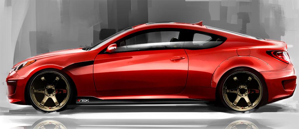Sema Show Ark Hyundai Genesis Coupe Car Trends