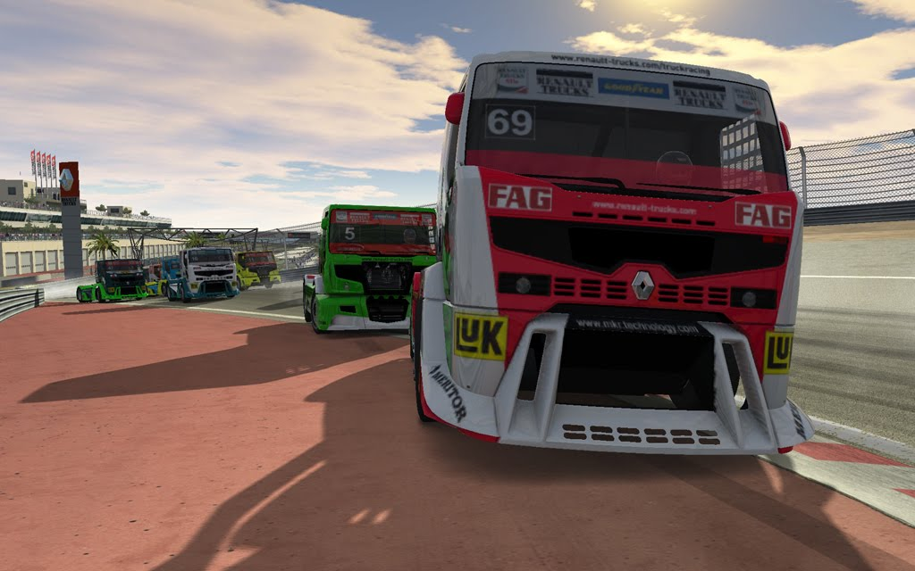 Renault Truck Racing Video Game