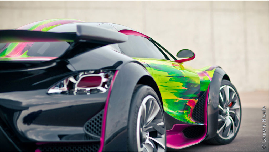 Citroen Survolt Art Car