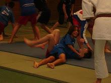 Aulas de judo no HSV