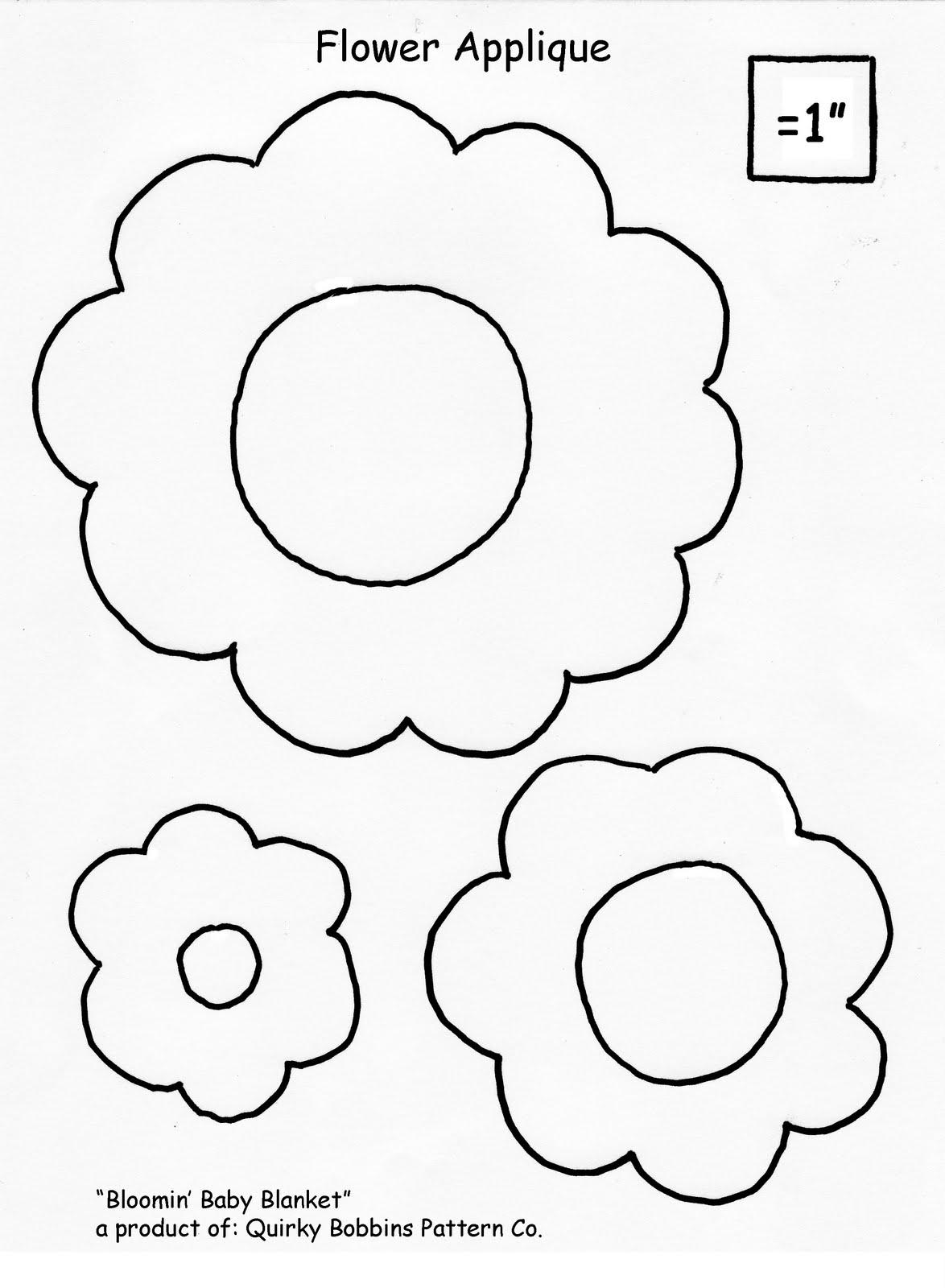 FREE FLORAL APPLIQUE PATTERNS | APPLIQUE : free flower applique patterns for quilts - Adamdwight.com
