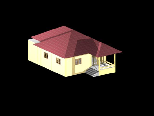 ตัวอย่างบ้าน1ชั้น