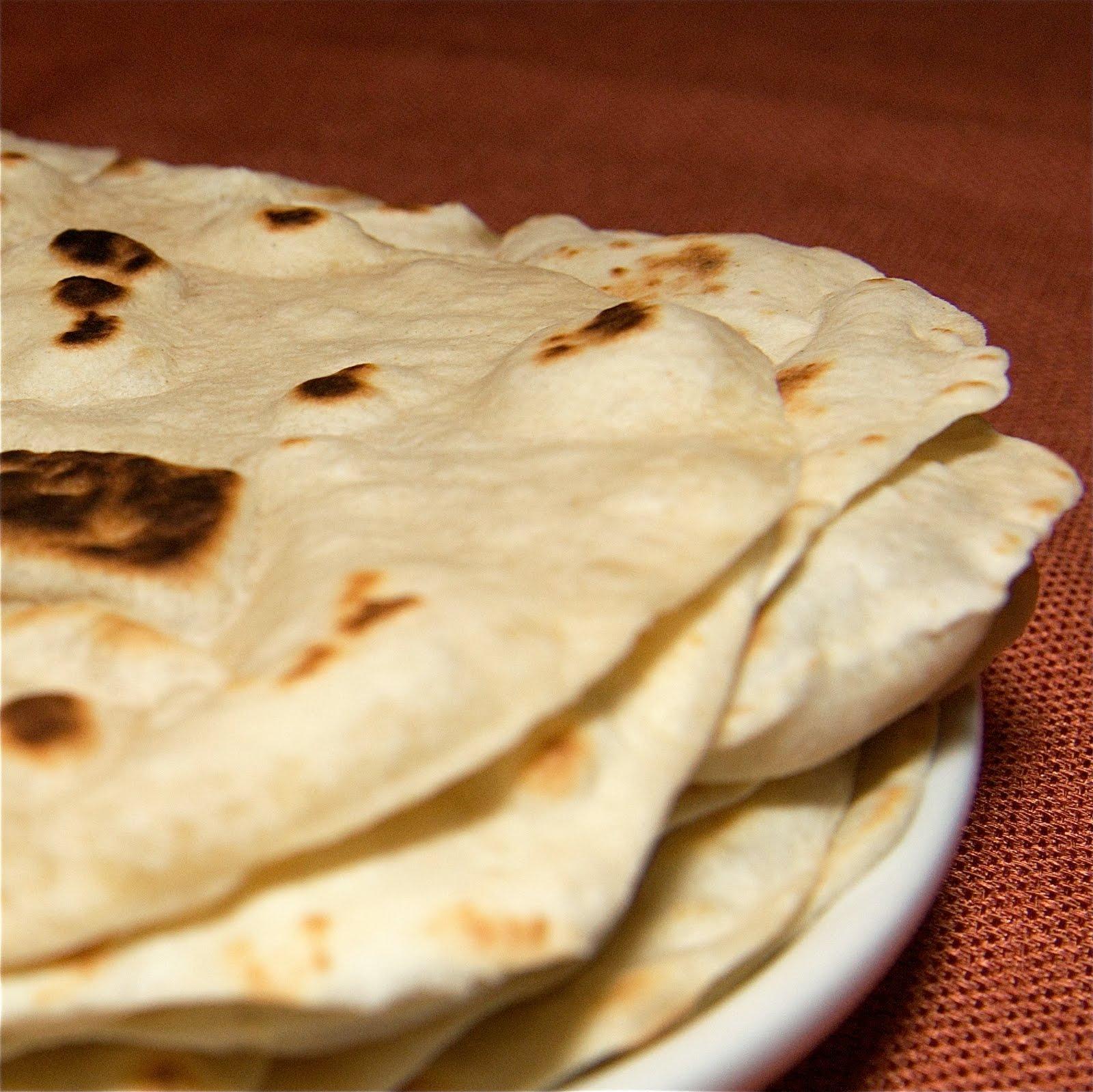 Betty Crapper: Homemade Flour Tortillas