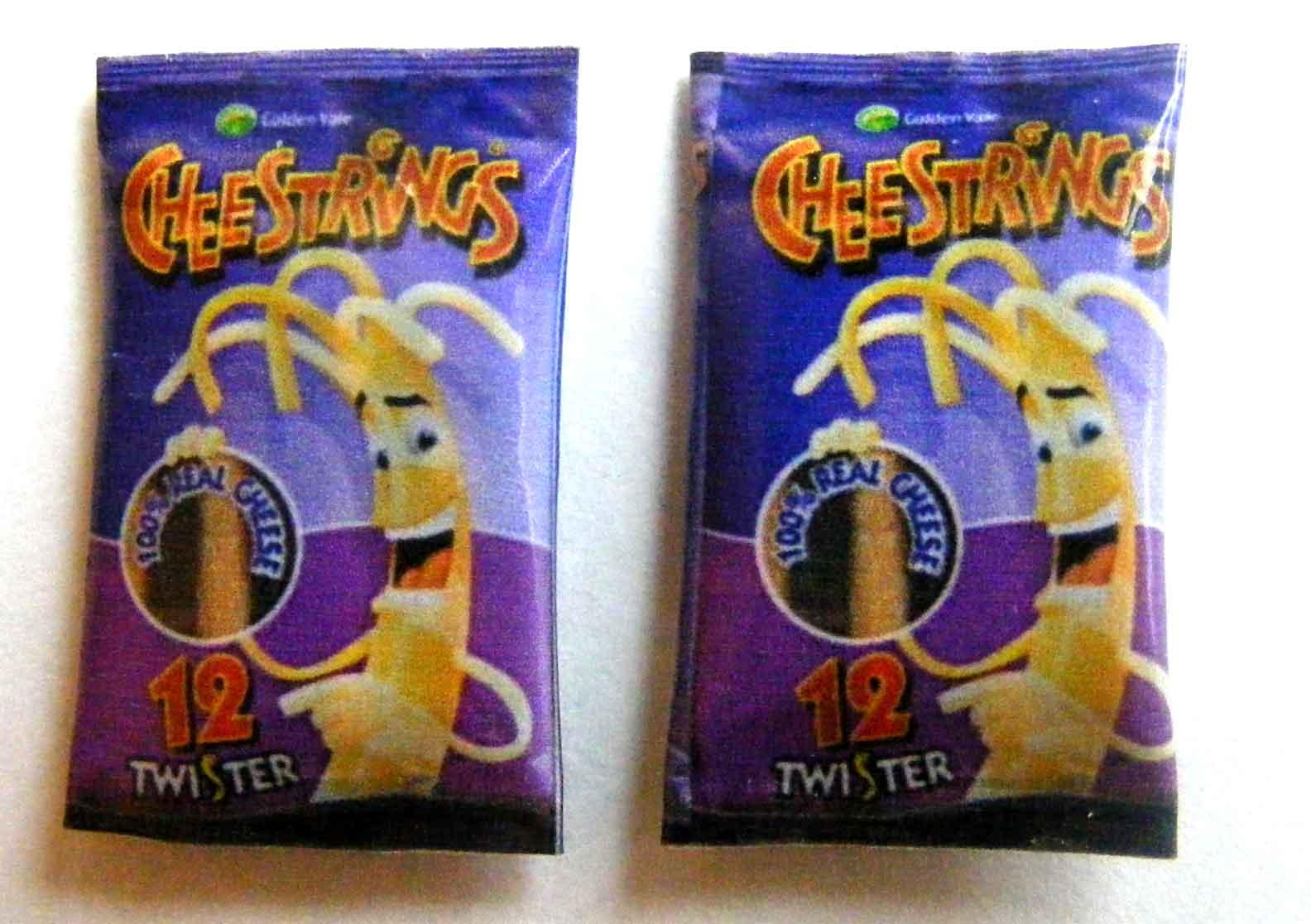 Of nog beter: cheese strings