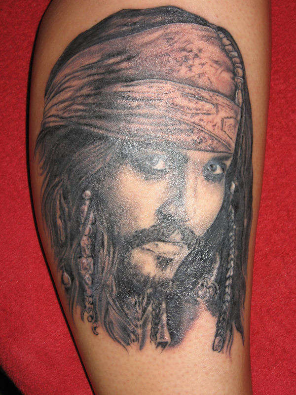 johnny depp tattoo