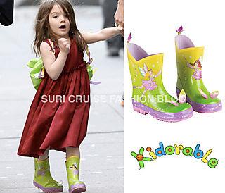 suri cruise rain boots