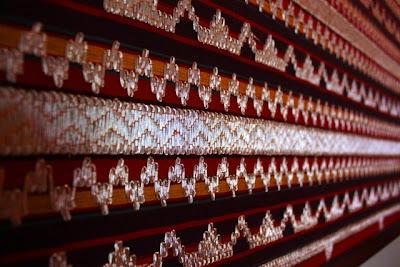 Tapis lampung jenis kerajinan tradisional masyarakat Lampung