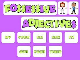 Possessive Adjective