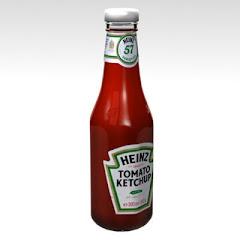 Ketchup (salsa de tomate).