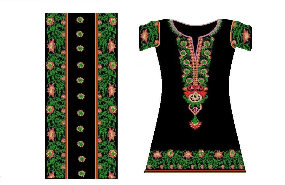 Embroidery designs fashion and embroidery design using cad Fashion embroidery designs