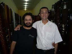 Eu e Filúvio Gardel, ou melhor:  Antenor e Ceará