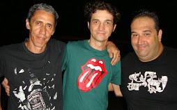 Márcio américo, eu e Renatão Tortorelli