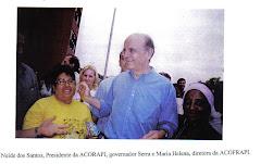 Governador visita ACOFRAPI
