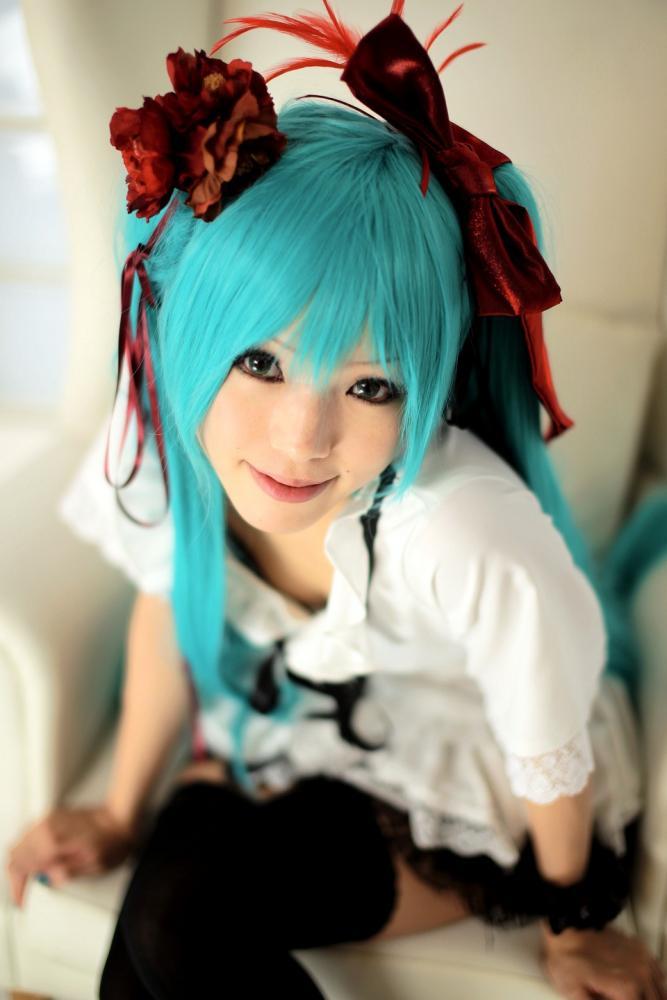hatsune miku cosplay - photo #11