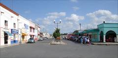 Dzidzantún en Google Street View