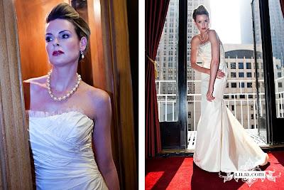 Lynn Lugo Bridesmaid Dresses Lotus Bottom