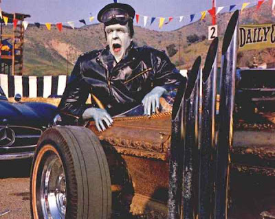 "Something a little different, an entire ""MUNSTERS"" episode- Hot Rod"