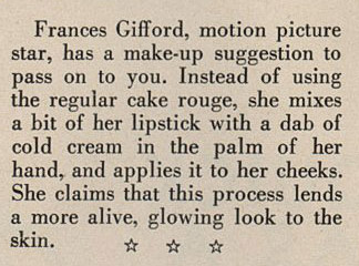 Things Your Grandmother Knew World War Ii Makeup Tip