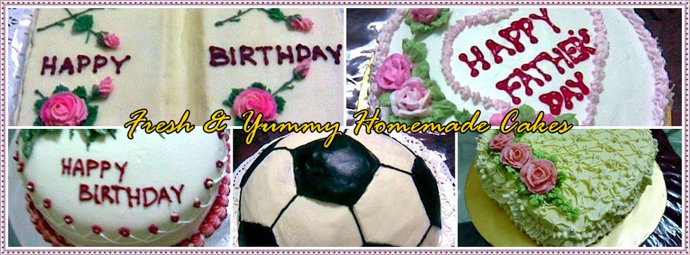 FRESH AND YUMMY HOMEMADE CAKES