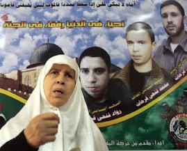 خنساء فلسطين ...شفاك الله يا أماه