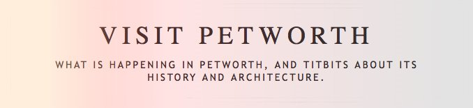 Visit Petworth