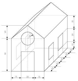 Ense arte iniciaci n a los sistemas de representaci n casa - Programa para dibujar planos facil ...