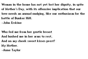 Mothers Day Quotes+-+John+Erskine,+Anne+Taylor
