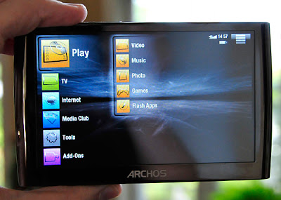 Archos 5 Internet Tablet Apps